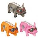 عروسک خوک مسابقه لاستیکی