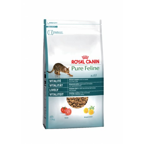 غذاي خشك گربه بالغ - شادابي و ضد افسردگي 1/5 كيلو